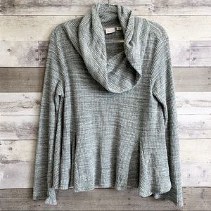 Postmark Anthro Maurisa Cowl Thermal Knit Sweater